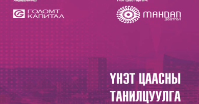 """""""Мандал Даатгал ХХК"""" IPO"""